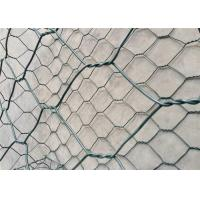 Best Plain Weave Gabion Wire Mesh / Heavily Zinc Gabion Mattress For River Bank Protection wholesale