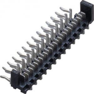 Best 90°  1.27mm 20P  Picoflex Heade Plate to wire connector Phosphor Bronze wholesale