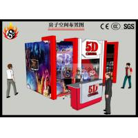 Cheap Great Outdoor Playground Hydraulic 5D Digital Cinema Equipment with Cinema Cabin for sale