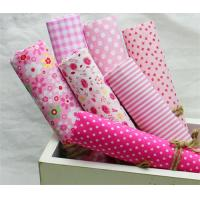 Cheap Shoes Lining  Printed Cotton Canvas / Woven Cotton Fabric 60 X 60 for sale