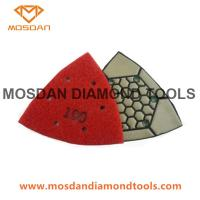 Best 3 Inch Triangle Edge Dry Polishing Pads for Corner and Counter Top wholesale