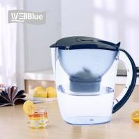 Buy cheap WellBlue Alkaline Water Hydrogen Rich Filter Pitcher With Low Negative ORP from wholesalers