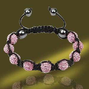 Best Hip Hop Disco Ball Shamballa Bracelet (BSL3067-18CM) wholesale
