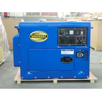 Best Industrial Air Cooled Quiet Diesel Generator With 3000 / 3600 Rpm Engine Speed wholesale