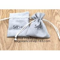 Best Handmade Velvet Long Drawstring Jewelry Pouches Bag Gift,Suede Fabric Drawstring Bag Jewelry Bag Gift Bag Small Mini Car wholesale