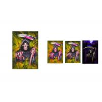 Buy cheap Custom Horror 12 x 17cm 3d Lenticular Images Happy Halloween Card For Holiday Celebration from wholesalers