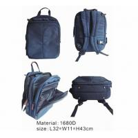 Best Fashionable Laptop Computer backpack travel 1680D G2627 wholesale