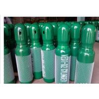 Best Green / Blue 34CrMo4 High Purity Compressed Gas Cylinder 200BAR 5.2mm Thickness wholesale