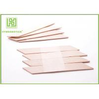 Best EO Sterilize Face Cream Spatula , Disposable Wooden Cuticle Sticks wholesale