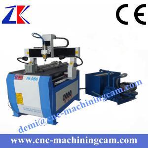 Best Vcauum pump 4 axies wood carving cnc router ZK-6090 (600*900*120mm) wholesale
