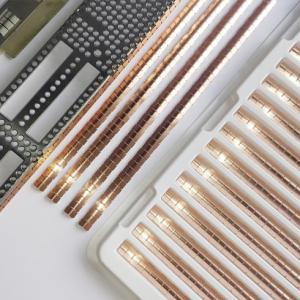 Best Custom Made Fingerstock EMI Gaskets Various Shape / Size High Elasticity wholesale