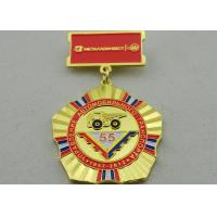 Best 2D or 3D Brass Custom Awards Medals on Breast with Die Stamping, Photo Etching, Injection wholesale