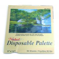 Best Square Disposable Palette Acrylic Artist Paint Pad 12 X 16'' / 9 X 12' Size wholesale