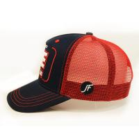 Best Customized Size  Snapback Hats , Mesh Trucker Cap 3d Embroidered wholesale