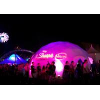 Best 8m Diameter Heavy Special Outdoor Aluminium Geodesic Dome Tent , Large Dome Tent wholesale
