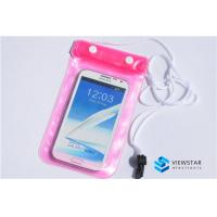 China Waterproof Cellphone Bag 4.8 - 5.5 inch Pouch for iPhone / Mobile Phone Accessories on sale