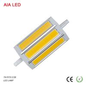 Best Indoor IP20 R7S 7W COB LED Lamp LED bulb light Europe modern for Flood light fixtures wholesale
