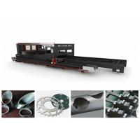 Quality Square Pipe / Tube Stainless Steel Metal Laser Cutting Machine Low Power Consuption wholesale