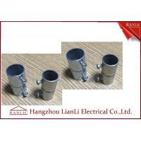 Cheap 20mm 25mm Steel GI Conduit Screwless Connector Electro Galvanized BS4568 for sale