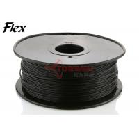 Best Makerbot black Flexible Filament 1.75mm / 3.0mm NinjaFlex , ROHS approval wholesale