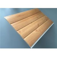 Best Fireproof Pvc Wall Panels Lightweight With Four Circular Arc 8.5 Mm Thickness wholesale
