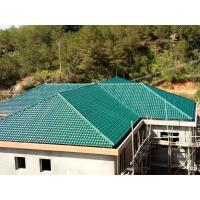 Best 1050mm width Acoustic Corrugated Pvc Roofing Sheets For Villa / Hotel wholesale