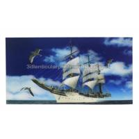 Cheap PET Material 3D Lenticular Poster Large Size Landscape 3 Dimensional Pictures for sale