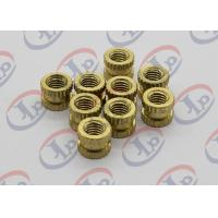 Best Professional Custom Turned Metal Parts Brass Knurled Nuts With M5 Thread wholesale