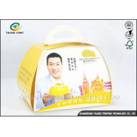 Lovely Food Packing Boxes Eco Friendly Paperboards For Cake Convenient Carrying