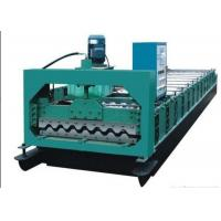 Best Colored Steel Roof Panel Roll Forming Machine Producing 750mm Width Tiles wholesale