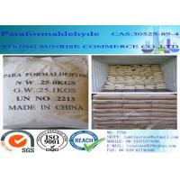 Quality Paraformaldehyde Combustible White Crystalline Powder CAS 30525-89-4 wholesale