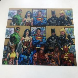 China 3D 0.6mm PET Lenticular Photo Card For Marvel Image on sale