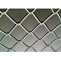 Best PVC Coated Chain Link Fencing With Installing Accessories / 610g Zinc Coating wholesale