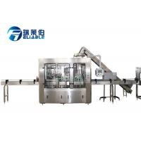 Best Beer Electric Glass Bottle Filling Machine 3 In 1 Rinsing Filling Capping Machine wholesale