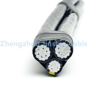 Best Outside Aerial Bundle Cable Triplex Service Drop Excellent Corrosion Resistance wholesale