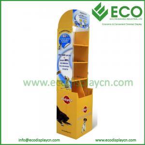 China China Direct Manufacotry Cardboard Pets Display/Pet Food Display Racks/Pet Clothes Display on sale