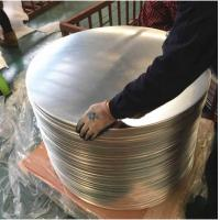 China Chemical / Food  Silver AA3003 Aluminum Disc , Aluminum Wafer CC  DC Material on sale