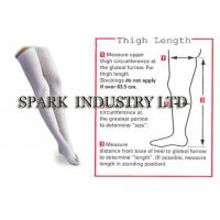 Best Anti Embolism Thigh High Medical Compression Stockings With Closed Toe wholesale