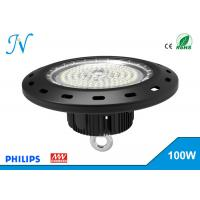 Best 100W UFO LED High Bay Lights AC 90-305V With MEANWELL Driver , High Bay Led Lights wholesale