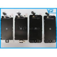 Best Black 4 Inch IPhone 5 LCD Screen Glass Digitizer With Capacitive Screen wholesale
