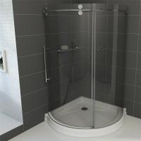 Best Frameless Round Sliding Shower Enclosure with 10mm Clear Glass and Stainless Steel Hardware wholesale