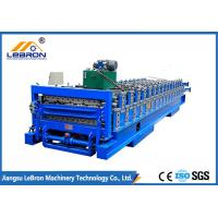 Best Blue Full Automatic Roll Forming Machine For IBR Sheet And Corrugated Sheet wholesale