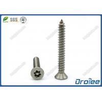 China Stainless Steel Security Torx Tamper Resistant Screws on sale
