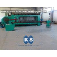 Best Large Hexagonal Wire Netting Machine 4300mm Width For Making Cylinders Gabions wholesale