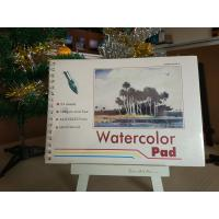 Best 190gsm 24sheets Artist Paint Pad gummed watercolour pad A3 / A4 watercolour paper wholesale