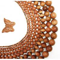 Best Custom Designed Semi Precious Gemstone Bead, 10mm Brown Round Goldstone Beads wholesale