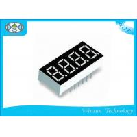 Best 4 Digit 7 Segment Display 0.4 Inch , 40.4 X 16 X 7.0mm Led Seven Segment Display For Toys wholesale