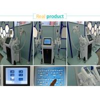 Buy cheap Good effect cellulite 10.4 inch touch screen 4 handles cryolipolysis fat freeze from wholesalers