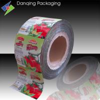 Best Aluminum Foil Roll Stock For Food Packaging    Tomato Sauce Packaging wholesale