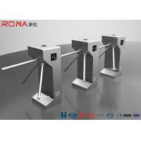 Buy cheap 304 Stainless Steel Tripod Turnstile Gate Access Control System 30 Pearsons / Min from wholesalers